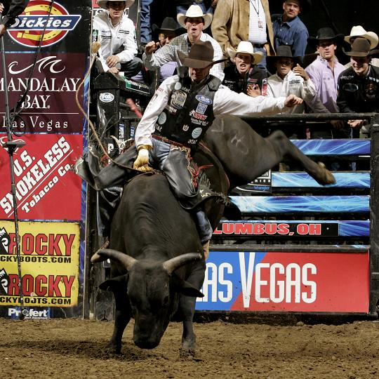 Teague Bucking Bulls Document Justin Mcbride Riding